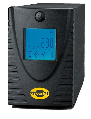 ORVALDI 800LCD USB 4 outlets IEC320 USB