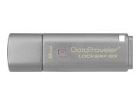 KINGSTON 8GB USB 3.0 DT Locker+ G3 w/Aut