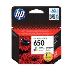HP 650 Tri-color Original Ink Advantage
