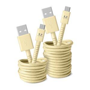 FRESHN REBEL Fabriq Micro USB 3m Butter
