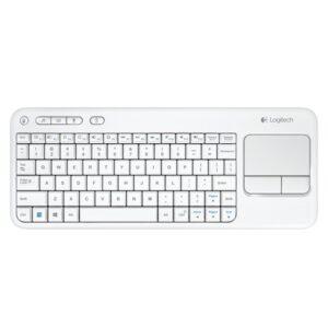 LOGITECH Wrls Touch Keyboard k400 white